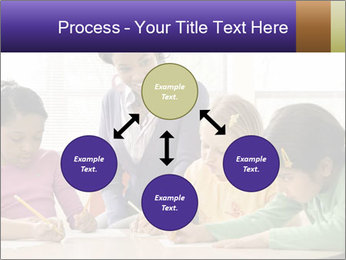 Teacher helping students PowerPoint Template - Slide 91