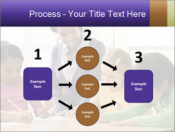 Teacher helping students PowerPoint Template - Slide 92
