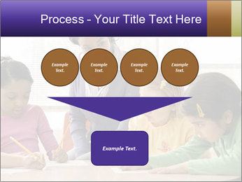 Teacher helping students PowerPoint Template - Slide 93
