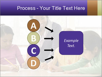 Teacher helping students PowerPoint Template - Slide 94