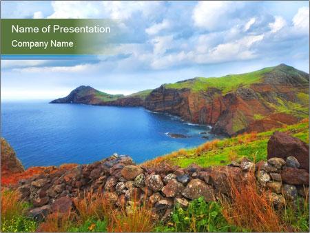 Landscape beauty PowerPoint Templates