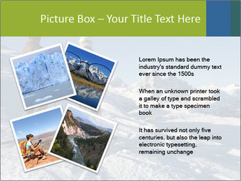 Two skiers view the Tetons PowerPoint Templates - Slide 23