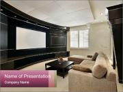 Luxury home PowerPoint Template