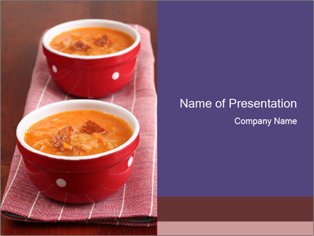 Cabbage soup PowerPoint Template