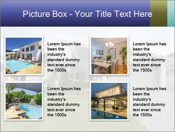 House front modern town PowerPoint Templates - Slide 14