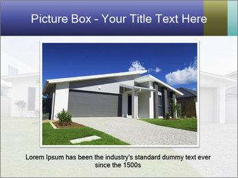House front modern town PowerPoint Templates - Slide 16