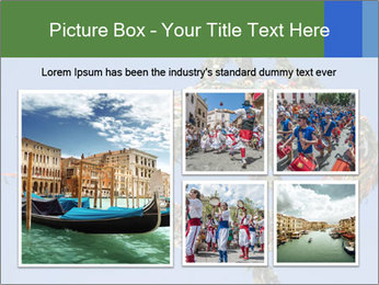 View colored maypole. PowerPoint Template - Slide 19
