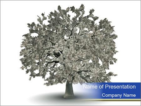 Dollar tree PowerPoint Template