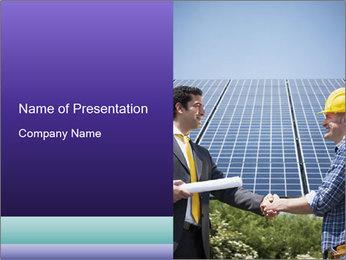Male engineer PowerPoint Templates - Slide 1