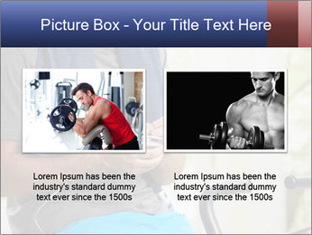Man sitting on stationary bike PowerPoint Templates - Slide 18