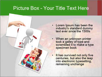 Male hand painting PowerPoint Templates - Slide 17