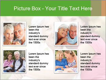 Senior Woman With Adult Daughter PowerPoint Template - Slide 14