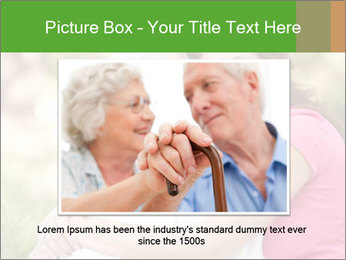 Senior Woman With Adult Daughter PowerPoint Template - Slide 16