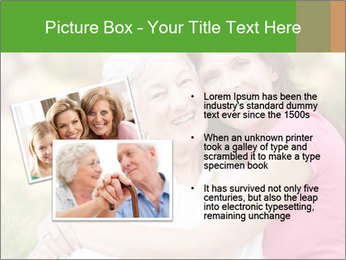 Senior Woman With Adult Daughter PowerPoint Template - Slide 20
