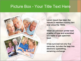 Senior Woman With Adult Daughter PowerPoint Template - Slide 23