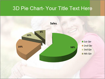 Senior Woman With Adult Daughter PowerPoint Template - Slide 35
