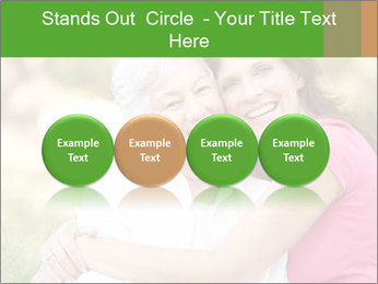 Senior Woman With Adult Daughter PowerPoint Template - Slide 76