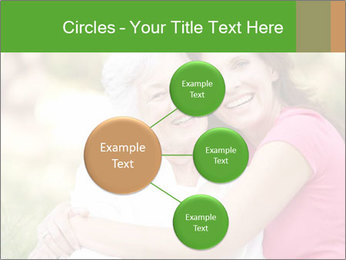 Senior Woman With Adult Daughter PowerPoint Template - Slide 79