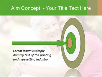 Senior Woman With Adult Daughter PowerPoint Template - Slide 83