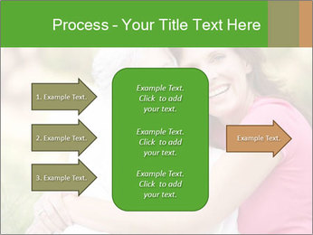 Senior Woman With Adult Daughter PowerPoint Template - Slide 85