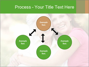 Senior Woman With Adult Daughter PowerPoint Template - Slide 91