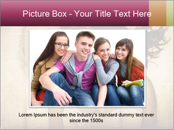 Adult friends PowerPoint Templates - Slide 16