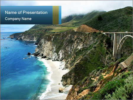 Beautiful Island PowerPoint Template