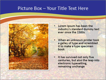 Fall leaves trees PowerPoint Templates - Slide 13