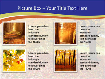 Fall leaves trees PowerPoint Templates - Slide 14