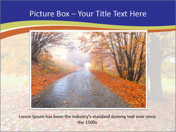 Fall leaves trees PowerPoint Templates - Slide 15