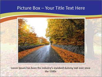 Fall leaves trees PowerPoint Templates - Slide 16