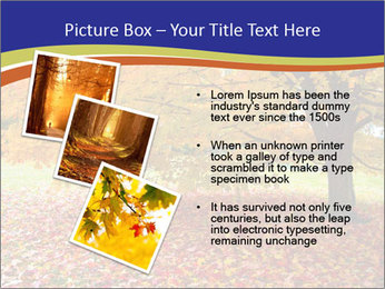 Fall leaves trees PowerPoint Templates - Slide 17