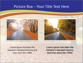 Fall leaves trees PowerPoint Templates - Slide 18