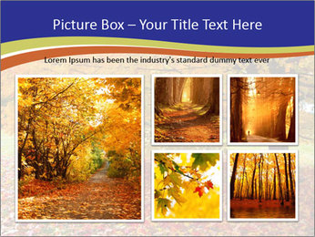 Fall leaves trees PowerPoint Templates - Slide 19
