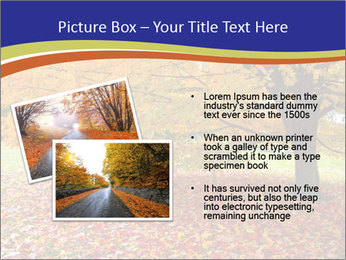 Fall leaves trees PowerPoint Templates - Slide 20