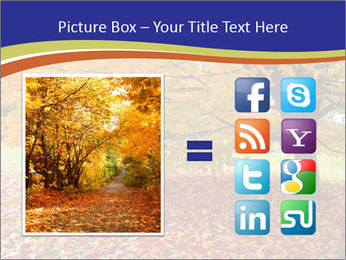 Fall leaves trees PowerPoint Templates - Slide 21