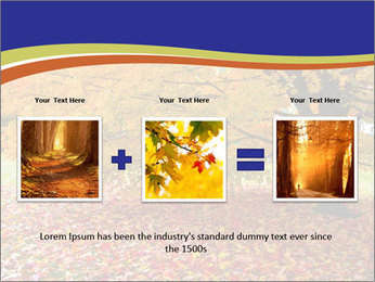 Fall leaves trees PowerPoint Templates - Slide 22