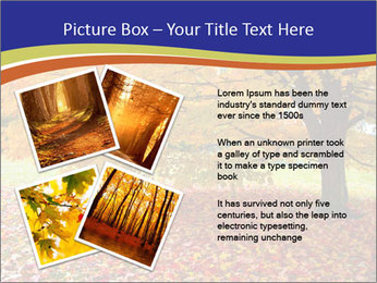 Fall leaves trees PowerPoint Templates - Slide 23