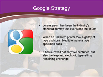 Team of young businesswoman PowerPoint Templates - Slide 10