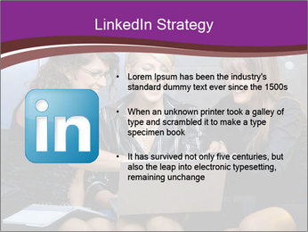 Team of young businesswoman PowerPoint Templates - Slide 12