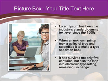 Team of young businesswoman PowerPoint Templates - Slide 13