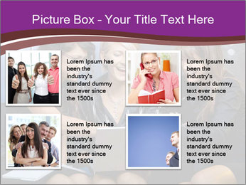 Team of young businesswoman PowerPoint Templates - Slide 14