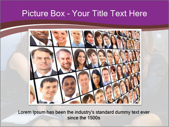 Team of young businesswoman PowerPoint Templates - Slide 16