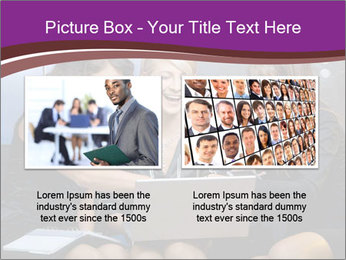 Team of young businesswoman PowerPoint Templates - Slide 18