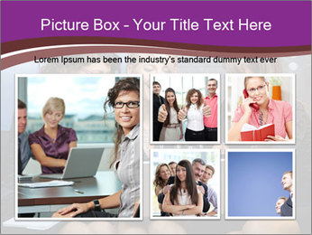 Team of young businesswoman PowerPoint Templates - Slide 19