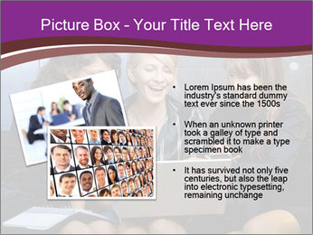 Team of young businesswoman PowerPoint Templates - Slide 20