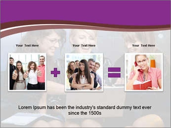 Team of young businesswoman PowerPoint Templates - Slide 22
