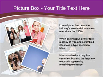 Team of young businesswoman PowerPoint Templates - Slide 23