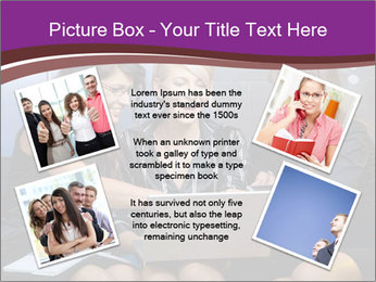 Team of young businesswoman PowerPoint Templates - Slide 24