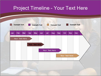 Team of young businesswoman PowerPoint Templates - Slide 25